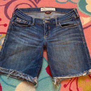 Hollister Stretch Jean Shorts size 3